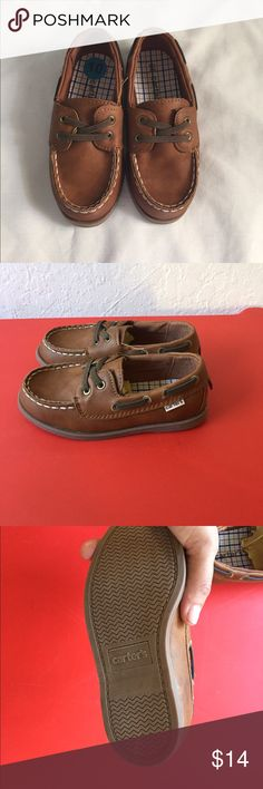 Carter's boys shoes Carter's Ian Boys Toddler Boat Shoe size 10 Carter's Shoes Moccasins