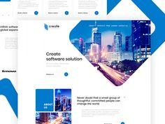Design landing page create by Roman Lel  - Dribbble