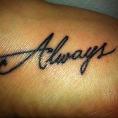 My new tattoo. Inspired by Harry potter and also a way of reminding myself that even though my mum is gone, she is always with me.