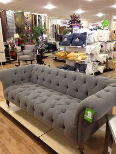 Now Thatu0027s A Chesterfield Sofa · Home Goods ...
