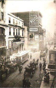 İstiklal Caddesi (1905?) #Beyoğlu #istanbul