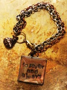 New Mom Bracelet. Magnifying Loupe. Forever and by RaiseMyGlass, $35.00