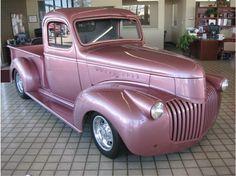 1941 Pink Chevrolet http://www.iseecars.com/Car_Listing/697622904/1941_Chevrolet_Other_Models_ROSEVILLE_CA.html