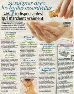 Pin on Conseils Health And Nutrition, Health Tips, Essential Oil Blends, Essential Oils, Accupuncture, Pin On, Naturopathy, Medicinal Herbs, Natural Health