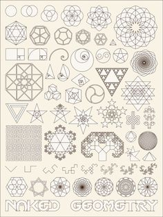 """openourminds: """" Naked Geometry -James Gyre """" I see that the Dragon Curve is included in this (visualizingmath's """"logo"""" [and old URL]). I love this!"""