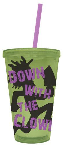 ♥♥♥♥ICP Insane Clown Posse Down With The Clown Carnival Cup with Lid and Straw Classic Imports http://www.amazon.com/dp/B00E81ARPK/ref=cm_sw_r_pi_dp_uuEnub00JF343