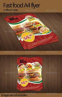 Fast Food Flyer - Restaurant Flyers