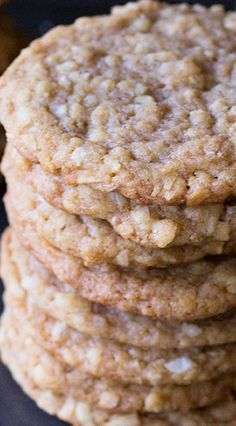 Chewy Coconut Cookies These 3 ingredient coconut macaroons cookies are gluten-free, easy to make and delicious. The perfect dessert for Passover or any other Holiday. Cookie Desserts, Just Desserts, Cookie Recipes, Dessert Recipes, Cookie Favors, Baking Desserts, Coconut Recipes, Baking Recipes, Coconut Desserts