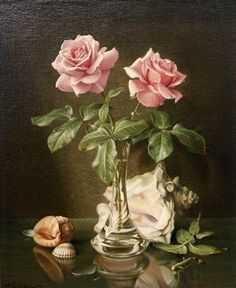 Things of beauty I like to see, Wolfgang Grünberg (1909-2001) - Still life with...