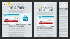 Responsive Web Design Gray & Yellow