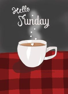 Happy Sunday! Enjoy your day of rest! My coffee will taste even more delicious than normal this morning since the power came back on!