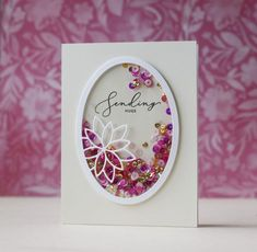 The amazing Laura Bassen is back in her latest edition of … Diy Cards Thank You, Fun Fold Cards, Cool Cards, Scrapbook Paper Crafts, Scrapbook Cards, Fathers Day Crafts, Beautiful Handmade Cards, Shaker Cards, Get Well Cards