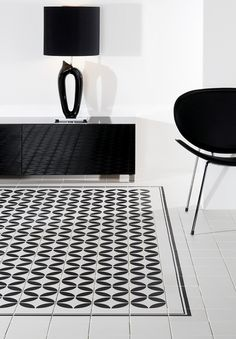 Amazing Tile Floor Idea For Your Interior Black And White Ceramic Ideas