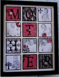 Mother's Day picture Frame by jasonw1 - Cards and Paper Crafts at Splitcoaststampers