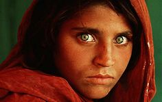 Afghanistan girl in Pakistan refugee camp (1983)