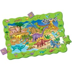 "The Puzzle Double series are two great products in one! Each puzzle includes a giant 50-piece 2' x 3' beautifully illustrated ""talk about"" floor puzzle. Once the puzzle is completed it becomes a game!  $14.99  http://www.calendars.com/Floor-Puzzles/Find-It-Dinosaurs-Activity-Floor-Puzzle/prod1289039/?categoryId=cat490016=cat490016#"
