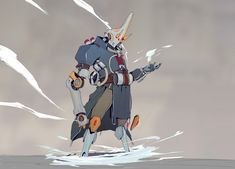 Oni of the winds, who can create powerful hurricanes at will Character Inspiration, Character Design, Space Anime, Suit Of Armor, Creature Design, Digimon, Cyberpunk, Concept Art, Sci Fi