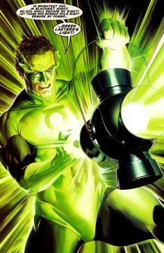 Green Lantern by Alex Ross ®