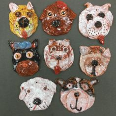 As a continuing project over the course of this school year, my students are creating art that celebrates the pets of FurKids shelter to raise community awareness. We began the year with drawings and Clay Projects For Kids, Kids Clay, School Art Projects, Animal Art Projects, Sculpture Projects, Ceramics Projects, Sculpture Clay, 4th Grade Art, Art Lessons Elementary