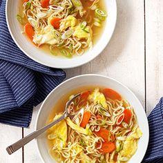 Egg Drop Noodle Soup Recipe - Country Living