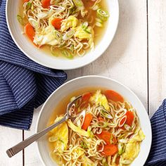 Egg Drop Noodle Soup Recipe - Country Living