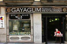 Gayagum-Korean Gallery Restaurant in Madrid
