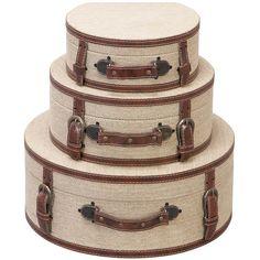 3 Piece Oxford Storage Trunk Set at Joss & Main