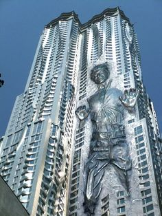 Frank Gehry - Carbonite Tower  http://www.arcreactions.com/services/videography/