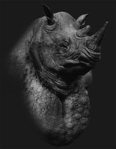 rhino_concept, Revnic Claudiu on ArtStation at https://www.artstation.com/artwork/xQ6VY