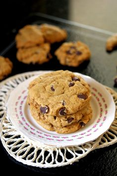 Kitchen Grrrls.: Vegan Pumpkin Spice Chocolate Chip Cookies