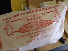 Syracuse NY Favorite Bakery  -- I miss (decent) Italian bread soooo much.