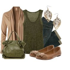 Green Glitz, created by qtpiekelso on Polyvore