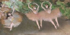 "Edgar Degas created ""Ballet Scene"" (ca. 1879) by applying pastel to a monotype, the one-off print medium that's the focus of a new show at MOMA."