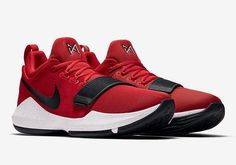 premium selection 55165 1e552 Nike Paul George 1 University Red