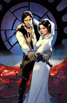Marvel blog: Star Wars#1:couvertures variant de Greg Land,Bob McLeod et Sara Pichelli