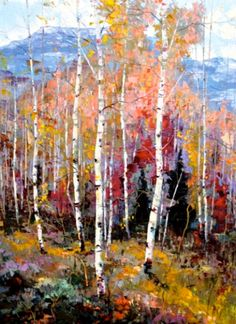 "Dean Bradshaw, ""High Country Glory."" This guy's obsessed with aspens and it's awesome"