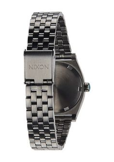 NIXON SMALL TIME TELLER The unexpected always adds a little drama and The Small Time Teller is causing an a scene. The slim, feminine design is draped in unique metal tones and complimentary colors that make for a standout statement. www.jessimara.com Complimentary Colors, Bracelet Watch, Drama, Feminine, Scene, Slim, Metal, Unique, Accessories