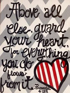 Guard your Heart!