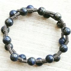 Just added! Blue Silver Bracelet Mens Bracelets For Men Bohemian Jewelry Boho Beaded Black Friday Sale Etsy Cyber Monday Sale Etsy Gifts for Him Her https://www.etsy.com/listing/257887204/blue-silver-bracelet-mens-bracelets-for?utm_campaign=crowdfire&utm_content=crowdfire&utm_medium=social&utm_source=pinterest