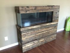 Barnwood Aquarium Stand                                                                                                                                                                                 More