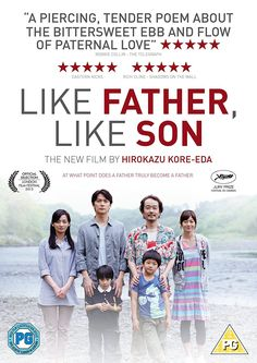 Like Father Like Son - film by Hirokazu Kore-Eda . so very touching Becoming A Father, Father And Son, Amazon Movies, Foreign Movies, Christopher Nolan, Film Festival, Filmmaking, Movie Tv, Poems