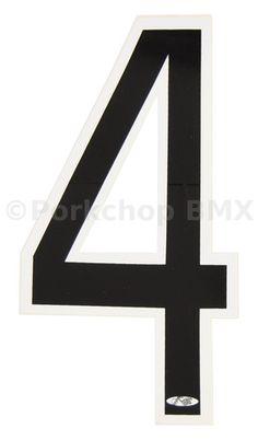 "GREEN NOS Neal Enterprises old school BMX RECTANGLE Number Plate 10/"" x 7/"""
