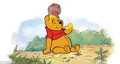 30 Day Disney Challenge:  Day 1: Favorite Character - Winnie The Pooh