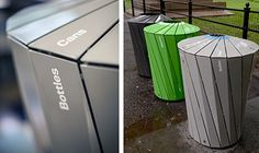 Landor, a New York branding firm, helped develop a new waste and recycling…