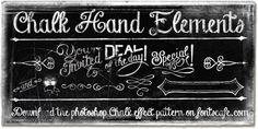 Chalk Hand Lettering - Webfont & Desktop font « MyFonts