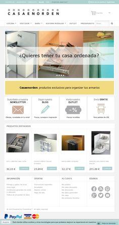 Visita nuestro sitio web www.casaenorden.com #ideas #organizacion #armarios #cocinas #decoracion