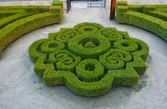 I must find room for this. Intricate boxwood parterre #gardendesign #landscapearchitecture