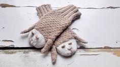 Animals Gloves/ Sheeps Mittens/ Kids Gloves/ Knitted Mittens/ Children Toddler Mittens/ Boy and Girl Mittens/ Sheeps