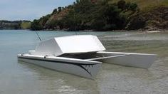 catamaran converted into powerboat - Google Search