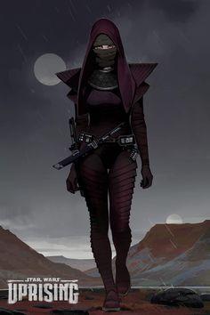 Star Wars: Uprising concept by Brian Matyas